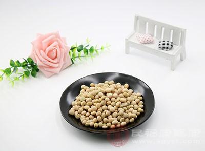 黄豆本身含有的营养物质丰富
