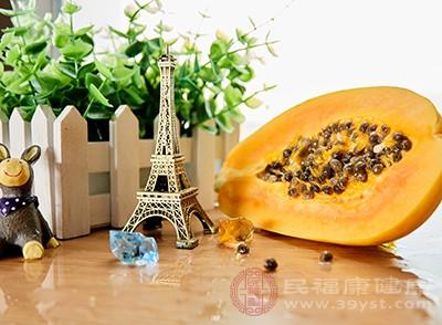 木瓜的功效 常吃这种水果消除身体毒素
