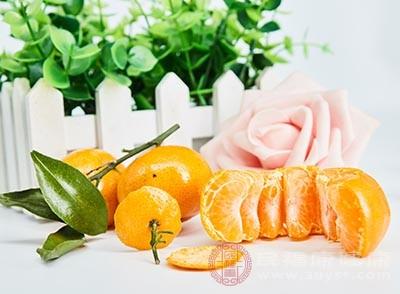 橘子的功效 常吃它可以清新口气