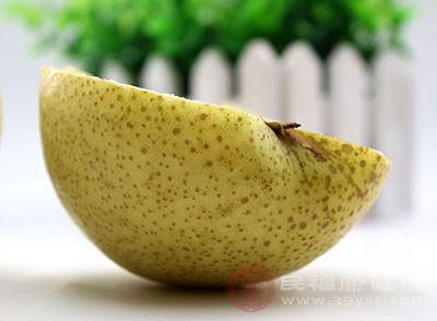 梨子的功效 常吃这种水果为身体补充水分
