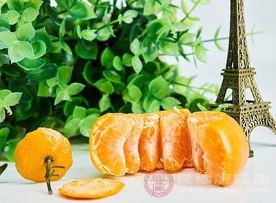 橘子的功效