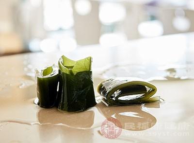 吃海带的目的,是为了补充适量的铁