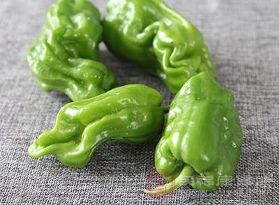 青椒能解热止痛