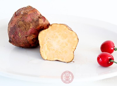 红薯这种食物当中含有较高的粗纤维