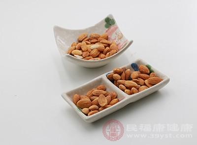 杏仁可有效降低人体中的血糖