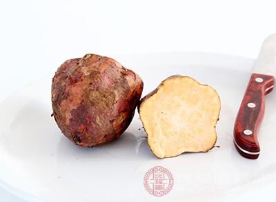 红薯中含有高量的钾元素,多吃红薯