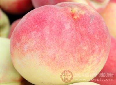 桃子的热量非常低,可以用做减肥时期的一种食物