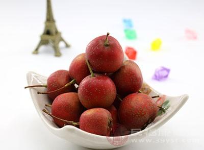 山楂是蔷薇科植物的果实