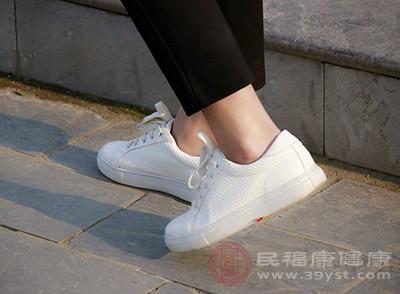 如穿着太紧的鞋子,并且长时间走路,同样也可能诱发腱鞘炎