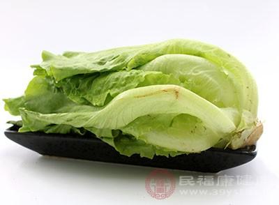 生菜能为人体补充丰富营养