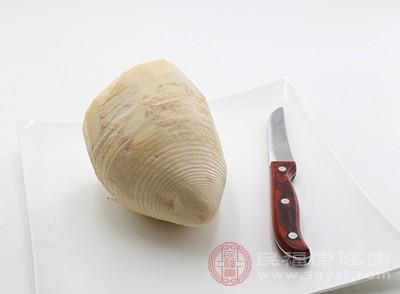 竹筍可以有效的通腸排便