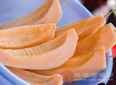 哈密瓜除了美味之外,還是天然的防曬霜