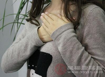 乳房的皮肤出现异常