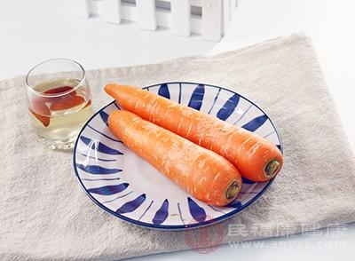 經常吃胡蘿卜對我們的身體非常好
