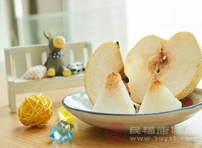 经常吃梨能够起到润肺止咳的效果