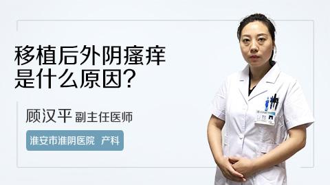 移植后外阴瘙痒是什么原因?