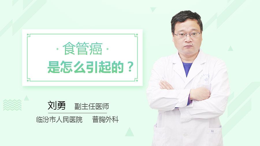 食管癌是怎么引起的