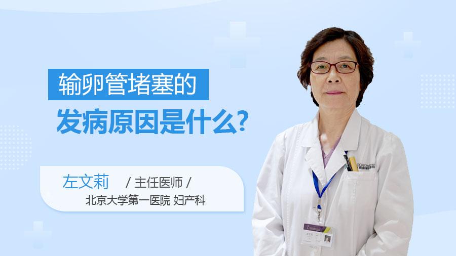输卵管堵塞的发病原因是什么