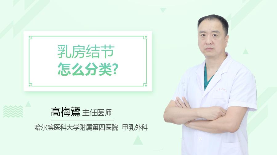 乳房结节怎么分类