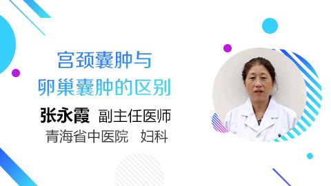 宫颈囊肿与卵巢囊肿的区别
