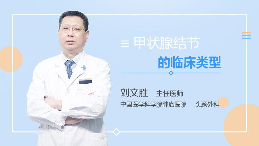 甲状腺结节的临床类型