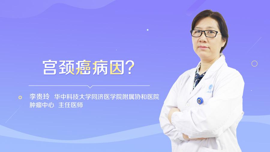 宫颈癌病因