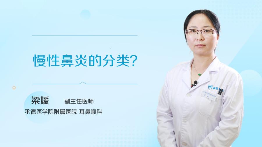 慢性鼻炎的分类