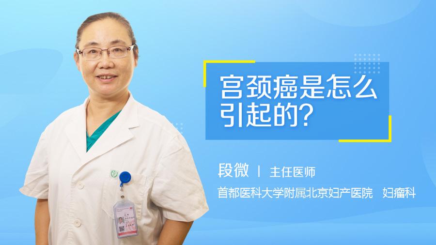 宫颈癌是怎么引起的